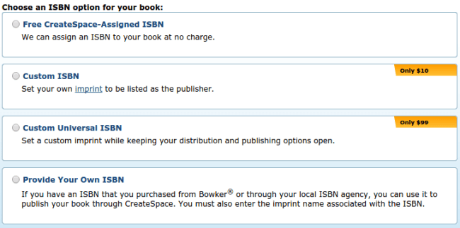 Choose an ISBN