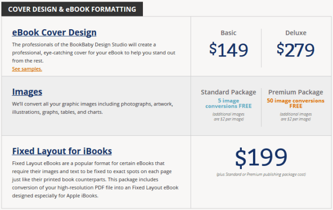 Cover Design and Ebook Formatting Prices