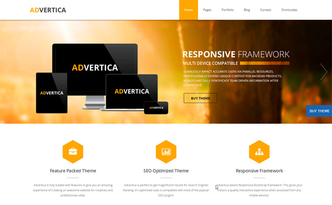 Advertica Free WordPress Theme