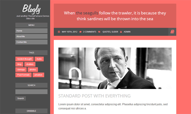 Blogly Free WordPress Theme