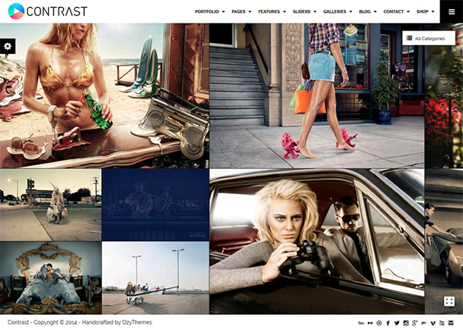 Contrast WordPress Theme