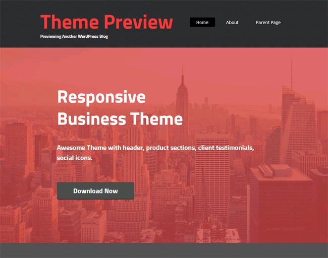 Embr Free WordPress Theme