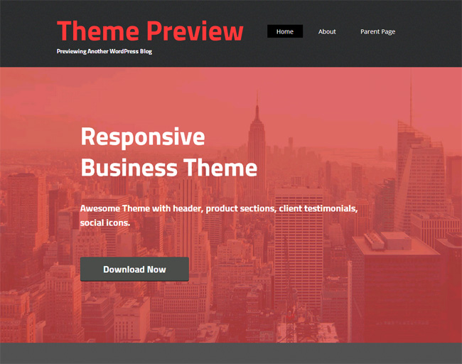 Embr Free WordPress Theme