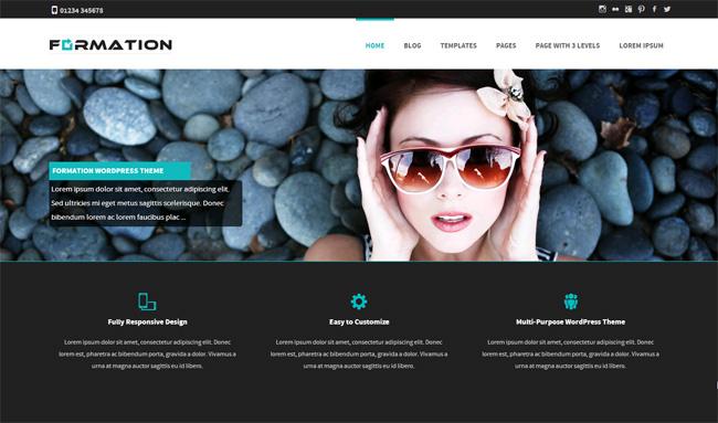 Formation Free WordPress Theme