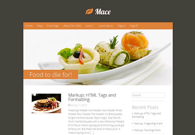 Mace Free WordPress Theme