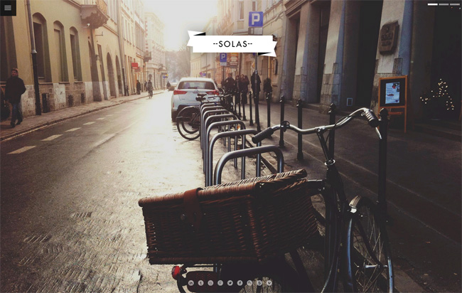 Solas WordPress Theme