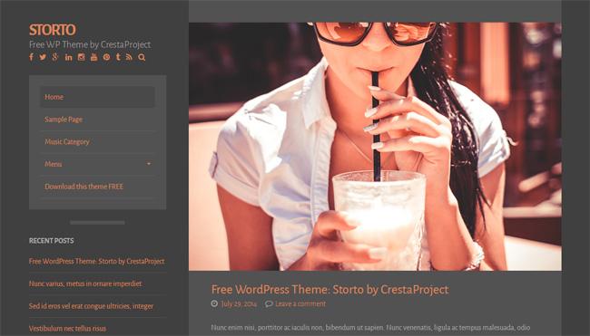 storto Free WordPress Theme