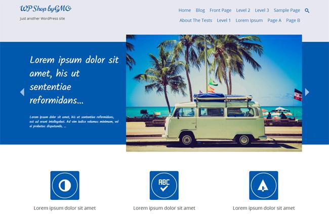 Tidy Free WordPress Theme