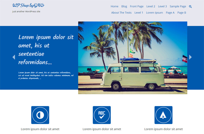 Tidy Free WordPress Theme