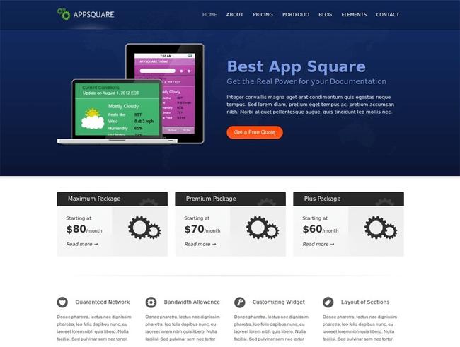 AppSquare WordPress Theme