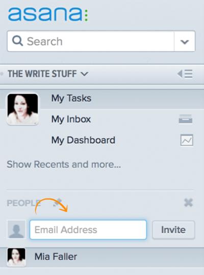 Asana Email