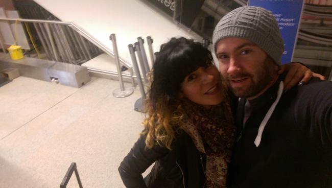 Selfie at Airport