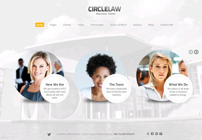 CircleLaw Premium WordPress Theme