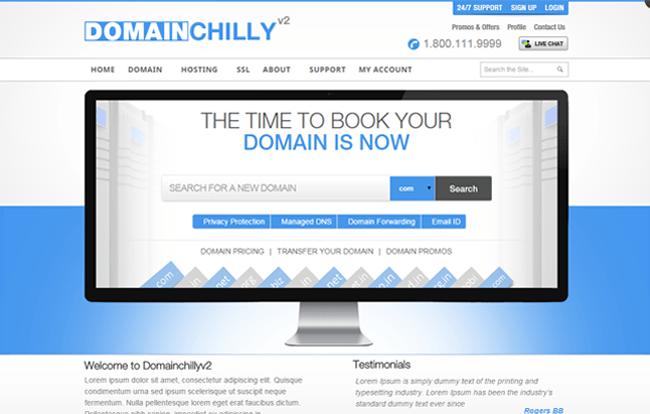 DomainChilly V2 WordPress Theme