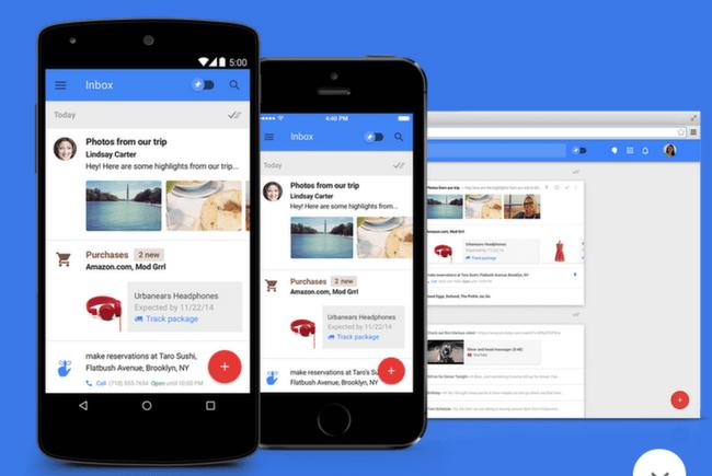 Inbox: Apps