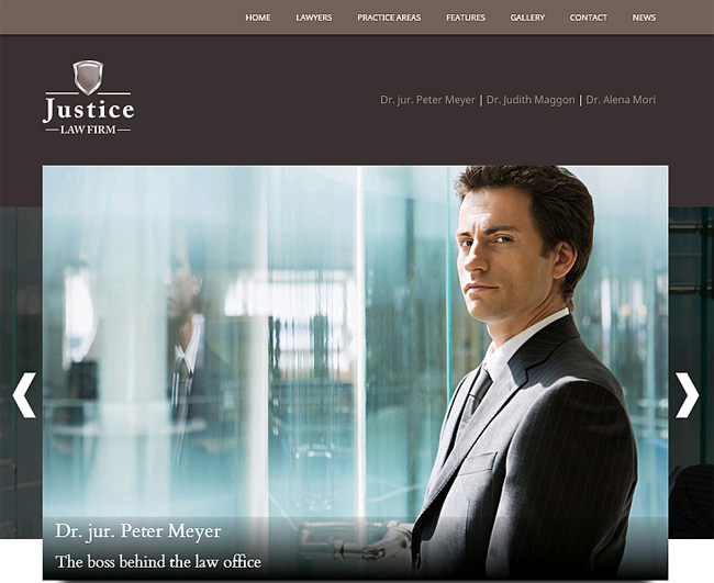 Justice Premium WordPress Theme