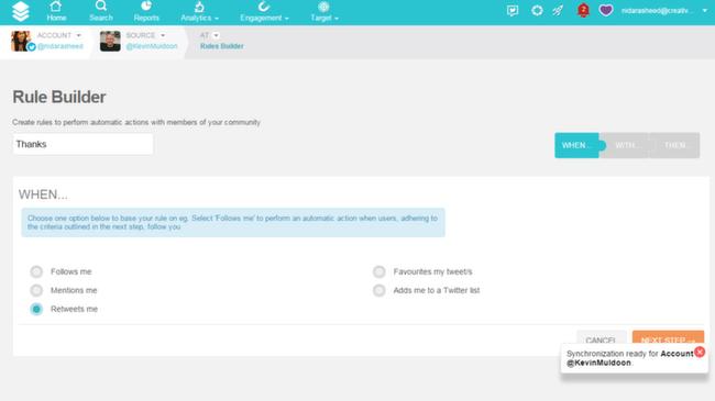 SocialBro: Automating Tasks