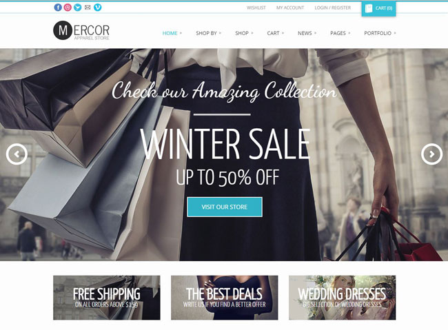 Mercor WordPress Theme