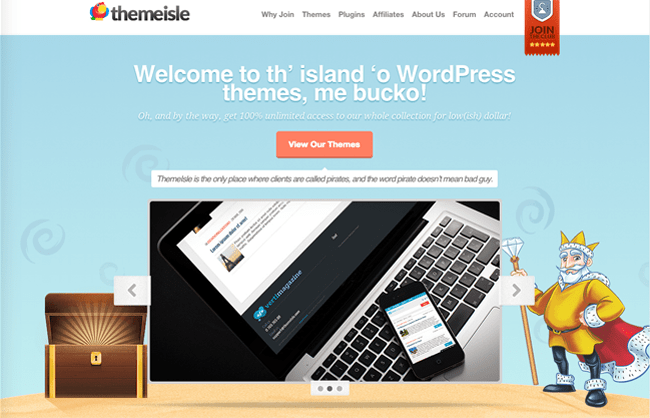 ThemeIsle Home Page
