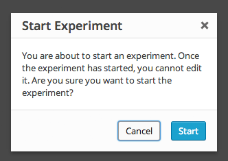 Start Heatmap Experiment