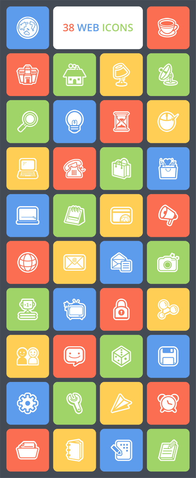 Free Web Icon Set
