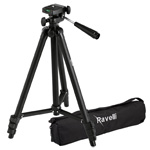 The Ravelli APLT2 50″ Light Weight Aluminum Tripod