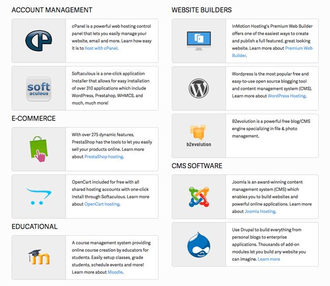 Website Hosting Tools