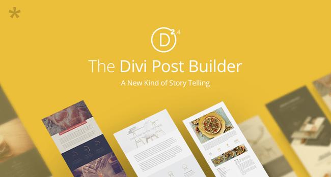 Divi Post Builder
