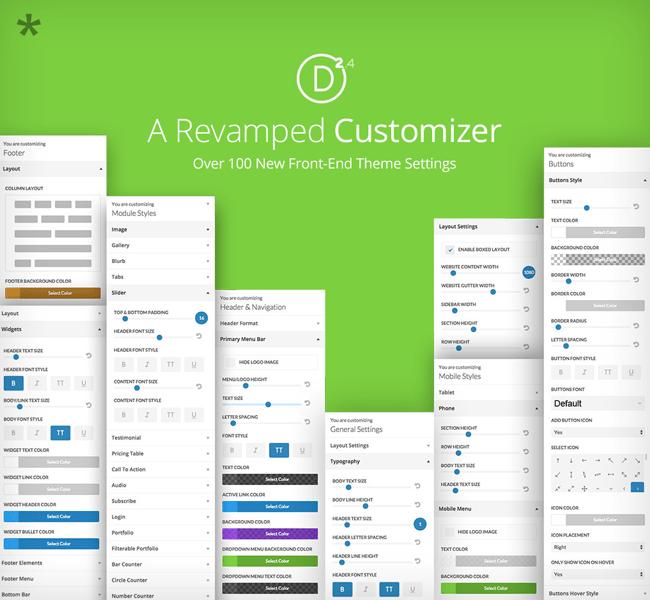 Revamped Customizer