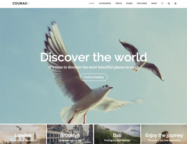 A Clean WordPress Blogging Theme
