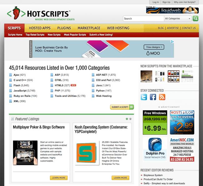 HotScripts