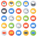 Email Icon Vector Set