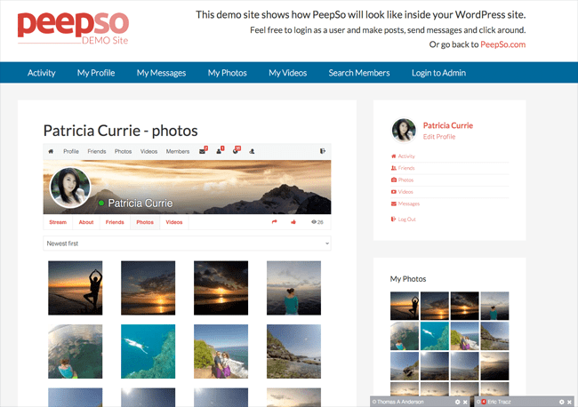 Create a Social Network with Peepso -