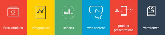 Visme Content Types