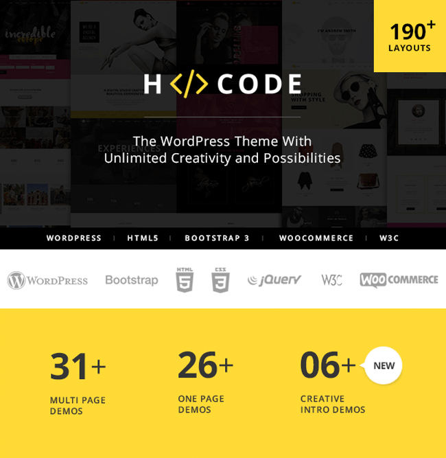 H-Code Feature List