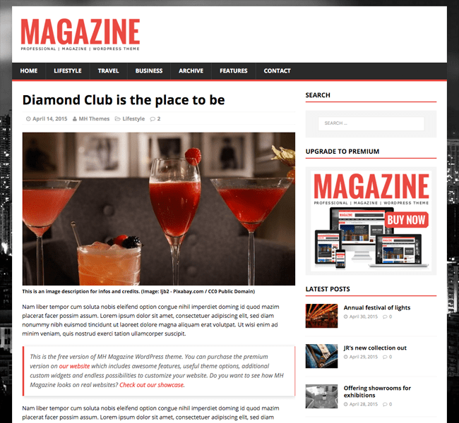 MH Magazine Blog Post