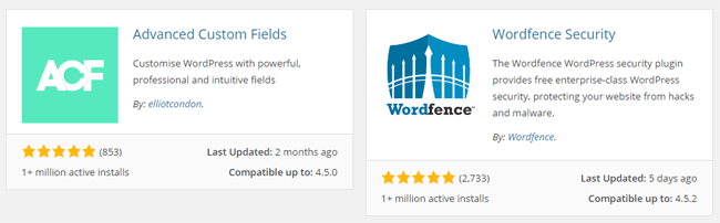 WordPress Active Installs