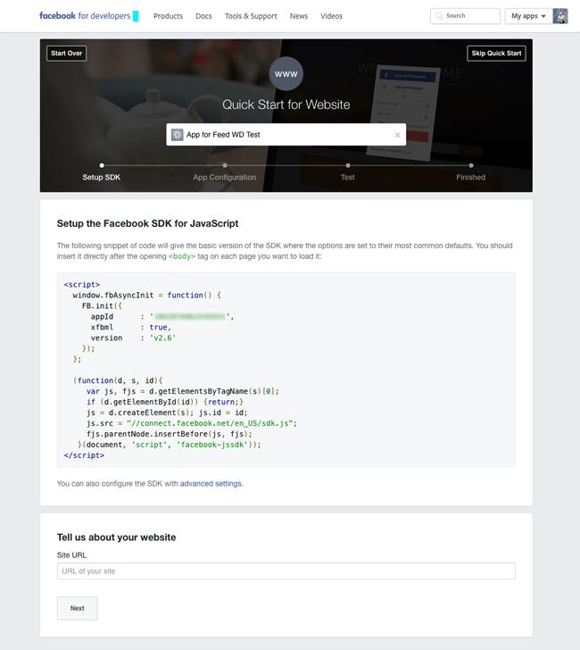 Setup Facebook SDK