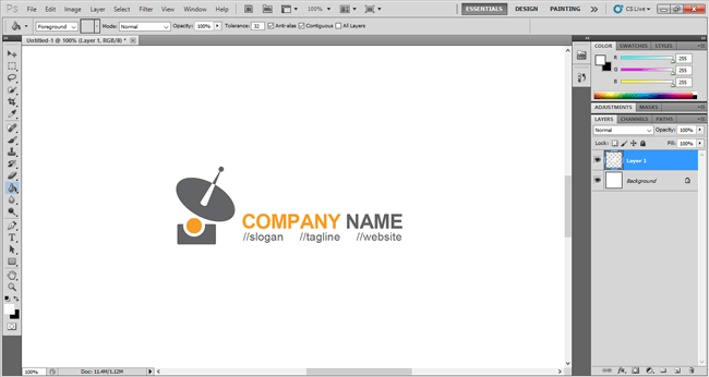Free Logo Template