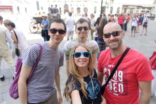 Walking Around Vienna