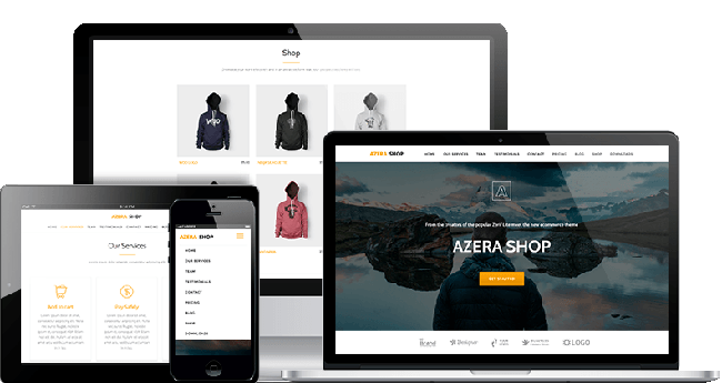 Azera Shop eCommerce WordPress Themes