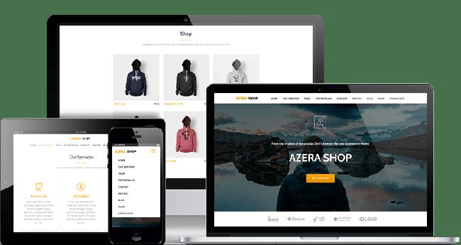 Azera Shop eCommerce WordPress Themes