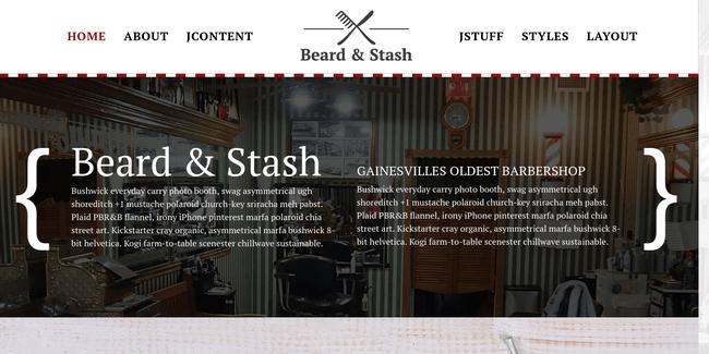 Beard and Stash