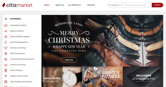 Nitro WordPress Theme