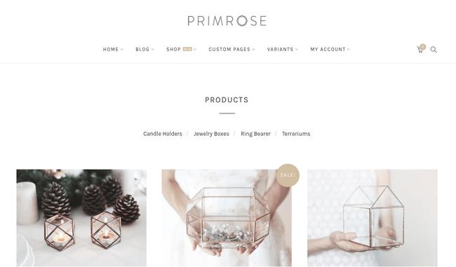 Primrose WordPress Theme
