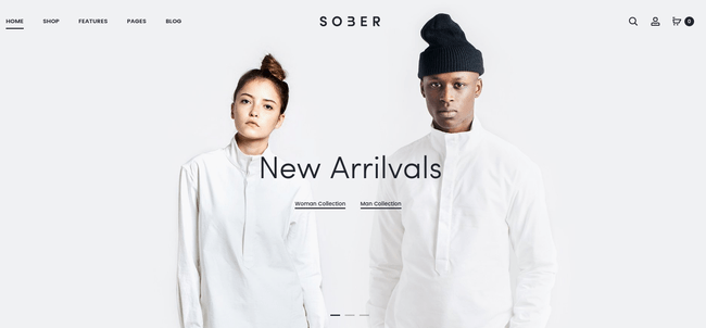 Sober WordPress Theme