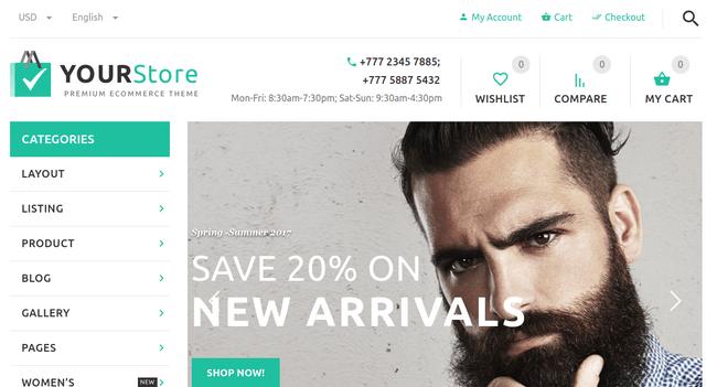 YourStore WordPress Theme