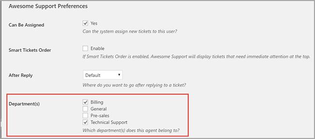 Smart Agent Assignment