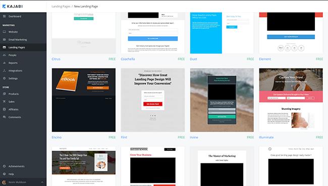 Kajabi Landing Pages
