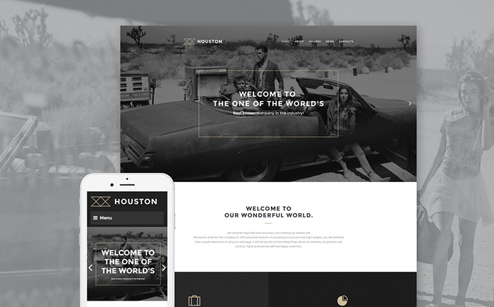 Houston – Business WordPress Template